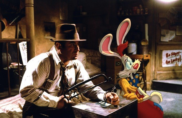 Bob Hoskins in Who Framed Roger Rabbit (Photo: Disney)