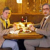 BOSOM BUDDIES: Tim Heidecker (right) and Eric Wareheim