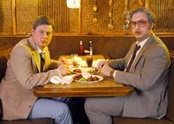 COURTESY CARTOON NETWORK - BOSOM BUDDIES: Tim Heidecker (right) and Eric Wareheim