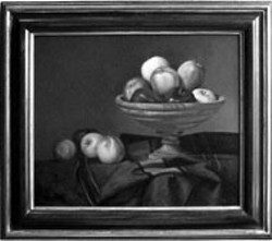 BOWL OF APPLES by Charles Gilbert Kapsner, at - Queen's Gallery