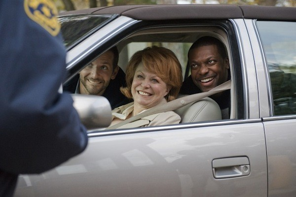 Bradley Cooper, Jackie Weaver and Chris Tucker in Silver Linings Playbook