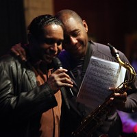 Live review: Ronnie Burrage w/ Branford Marsalis