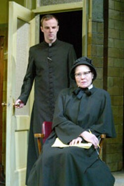 JOAN MARCUS - Brian O'Byrne and Cherry Jones in Doubt