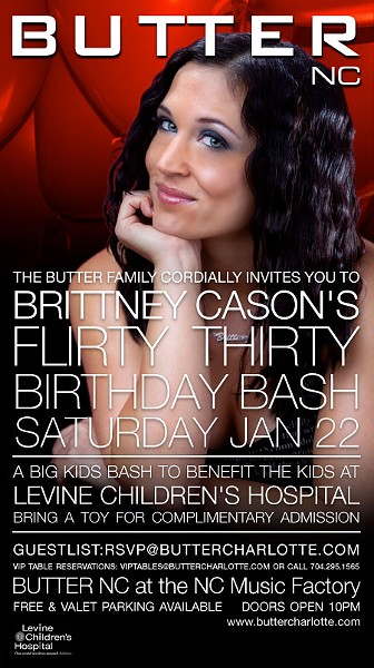 Brittney Cason bday flyer