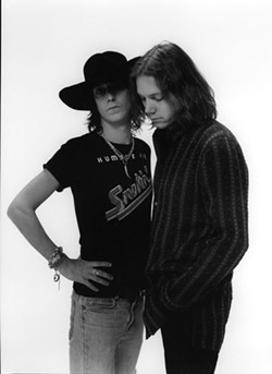 COURTESY OF THE BLACK CROWES - Brothers Chris and Rich Robinson of the Black Crowes