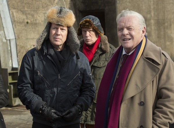 Bruce Willis, John Malkovich and Anthony Hopkins in Red 2 (Photo: Summit)