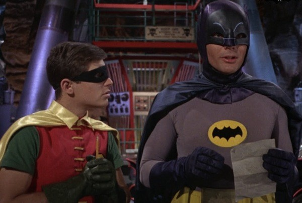 Burt Ward and Adam West (All photos: Warner Bros.)