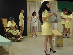 INNOVATIVE THEATRE - CAGED HEAT: Charlotte's artistic guerilla group, innovative Theatre, returns with Women Behind Bars