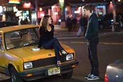 COLUMBIA & PLAYLIST LLC - CAR TALK: Tris (Alexis Dziena) and Nick (Michael Cera) converse in Nick & Norah's Infinite Playlist.