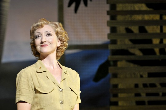 Carmen Cusack as Nellie in South Pacific; Photo by Peter Coombs