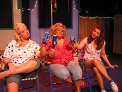 CHIP DECKER - Carmen Schultz, Liz Hyde and Johanna Lloyd in The Great American Trailer Park Musical