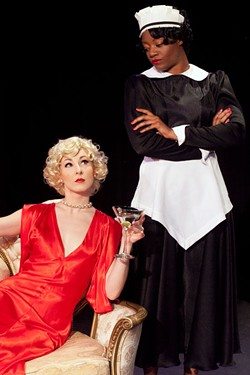 GEORGE HENDRICK'S PHOTOGRAPHY - Caroline Bower (left) and Brandi Feemster in By the Way, Meet Vera Stark.