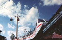 Question the Queen City: What happened to Carowinds' monorail?