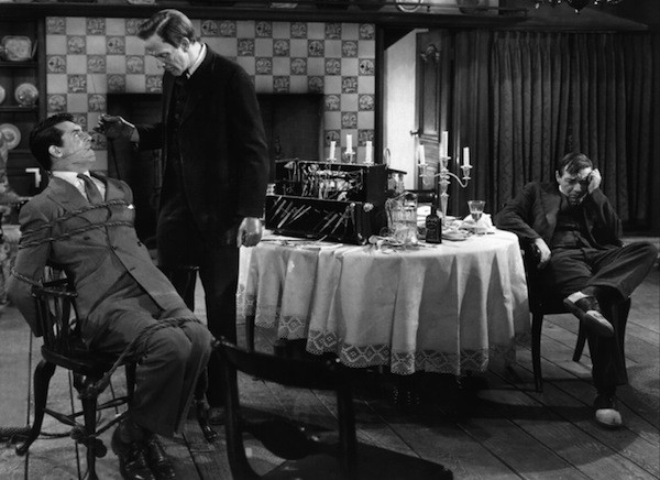 Cary Grant, Raymond Massey and Peter Lorre in Arsenic and Old Lace (Photo: Warner Bros.)