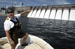Catawba Riverkeeper Donna Lisenby on patrol