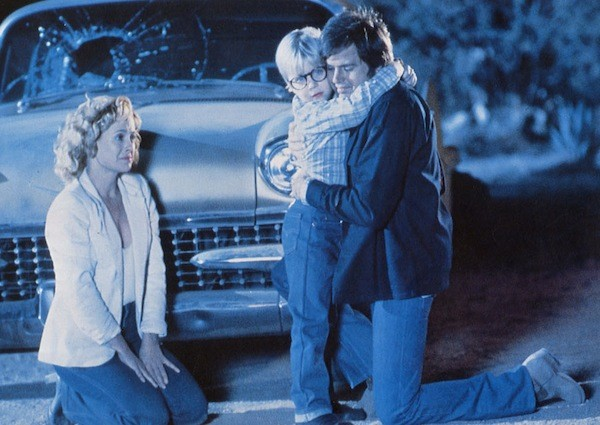 Catherine Hicks, Peter Billingsley and Paul Le Mat in Death Valley (Photo: Shout! Factory)