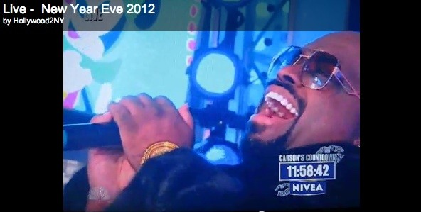 Cee-Lo singing Imagine on New Years Eve