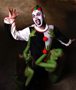FRANK BALTHAZAR - Celebrate Halloween at the Eat, Drink and Be Scary - CarnEVIL