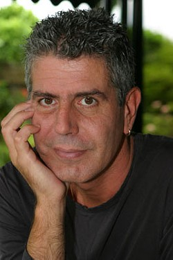 Celebrity chef Anthony Bourdain makes an appearance at Charlotte Shout! during its run Sept. 6-30