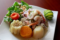 Ceviche mixto - MEREDITH JONES