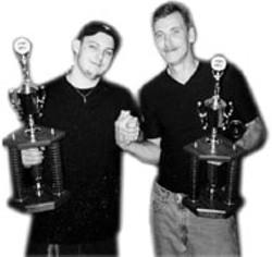 JONATHAN ROBERTSON - Champs Mark Carpenter and Jonathan Robertson