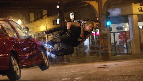 Channing Tatum and Mila Kunis in Jupiter Ascending (Photo: Warner)