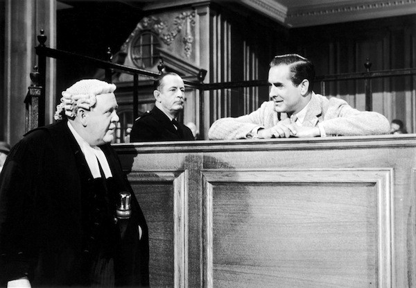 Charles Laughton and Tyrone Power in Witness for the Prosecution (Photo: Kino Lorber)