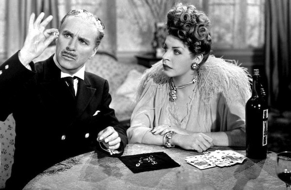 Charlie Chaplin and Martha Raye in Monsieur Verdoux (Photo: Criterion)