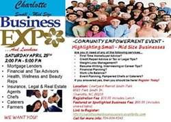 DAWN NICOLE THOMPSON AND FRIENDS - Charlotte Business Expo, bridging the gap between Business and Community