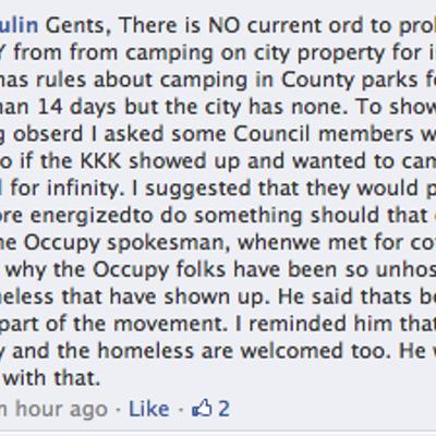 CLTCC Andy Dulin's online comments