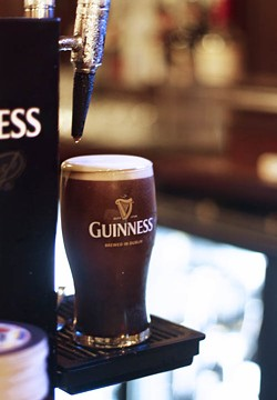ASHLEY GOODWIN - CHEERS: The downtown Irish pub RiRa is one of the many venues in Charlotte that offers Guinness.