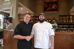 COURTESY OF GOT TO BE NC COMPETITION DINING SERIES - Chef Miles Payne of LittleSpoon and chef Ryan Forte of Southminster will compete in the opening battle on March 22.