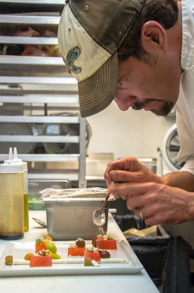 Chef/owner Paul Verica - JONATHAN COOPER