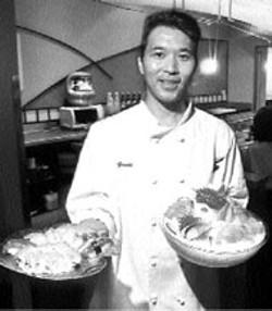 """RADOK - Chef Yoshiyuki """"Yoshi"""" Takusagawa at his Huntersville - restaurant"""