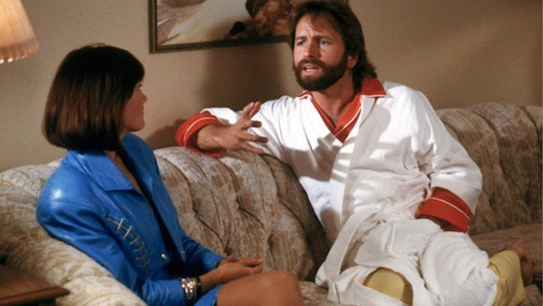 Chelsea Field and John Ritter in Skin Deep (Photo: Disney)