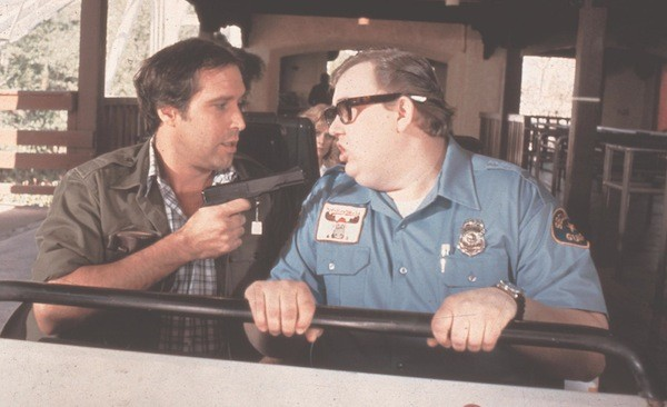 Chevy Chase and John Candy in National Lampoon's Vacation (Photo: Warner Bros.)