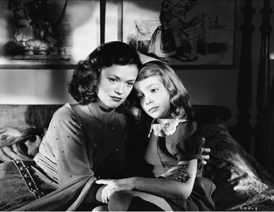 CHILD'S PLAY: Lonely Ann Carter conjures up the spirit of Simone Simon in The Curse of the Cat People (Photo: Warner Bros.)