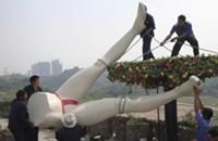 Chinese sex park demolished