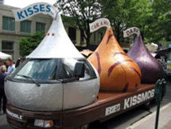 TIMOTHY C. DAVIS - CHOCOLATE BEFORE THE STORM: The - Kiss-Mobile at Taste of Charlotte