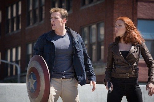 Chris Evans and Scarlett Johansson. (Photo: Disney & Marvel)