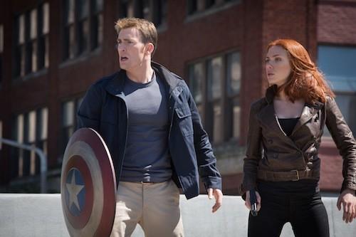 Chris Evans and Scarlett Johansson. (Photo: Disney & Marvel)