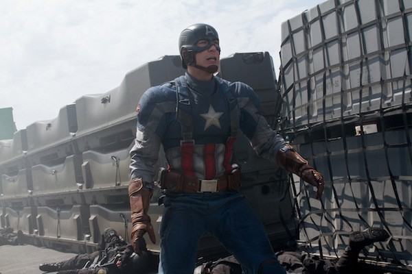 Chris Evans in Captain America: The Winter Soldier. (Photo: Disney & Marvel)