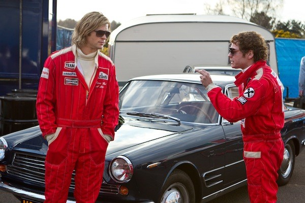 Chris Hemsworth and Daniel Brühl in Rush (Photo: Universal)