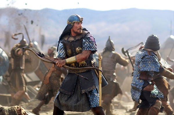 Christian Bale as Moses in Exodus: Gods and Kings (Photo: Fox)