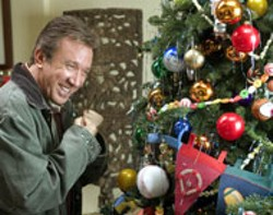 COLUMBIA - CHRISTMAS JEER Tim Allen is in typically smug form - in Christmas With the Kranks