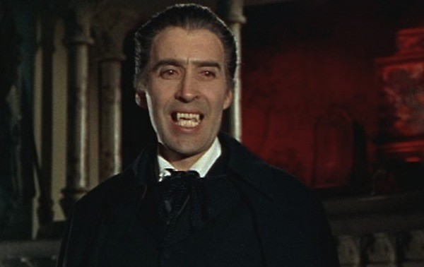 Christopher Lee in Dracula: Prince of Darkness (Photo: Millennium & Hammer)