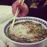 Church lady pho, pho the win!