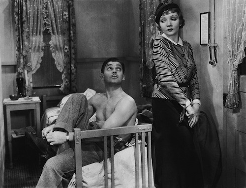 Clark Gable and Claudette Colbert in It Happened One Night (Photo: Criterion Collection)