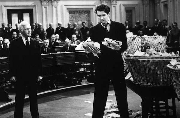Claude Rains and James Stewart in Mr. Smith Goes to Washington (Photo: Sony)