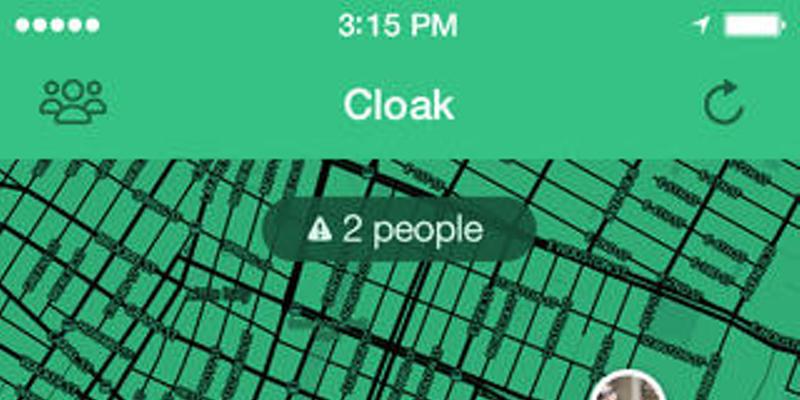 Cloak: The perfect iPhone app for avoiding weirdos